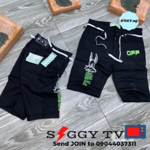Our Palm Angels Design shorts are easy to wash and quickly dry when you wash. it made of 100% cotton material. nice for both casual and cooperate.