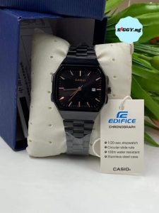 Casio Edifice Chronograph Wrist Watchis a men time with a classic digital look. Lightweight stainless steel makes Casio watch easy on the wrist. Buy Casio Edifice Chronograph Wrist Watch in Nigeria