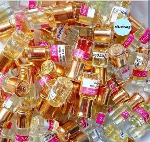 Order for Undiluted Perfume Oil available in Premium and Top Quality. Perfume Oil is also available in Wholesale price for as low as N250 for 3ml. Buy Quality Perfume Oils in Nigeria