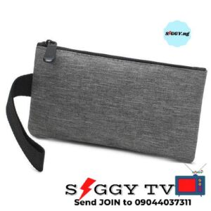 3 in 1 bag with charging port and headphones for students in Nigeria for easy and portable carrying of books, laptop and other stuffs.
