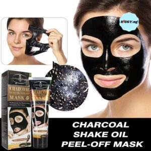 Aichun Beauty Charcoal Snake Oil Peel Off Mask blackhead remover helps to pull out blackheads from the root, leaving you a smooth, clean skin.