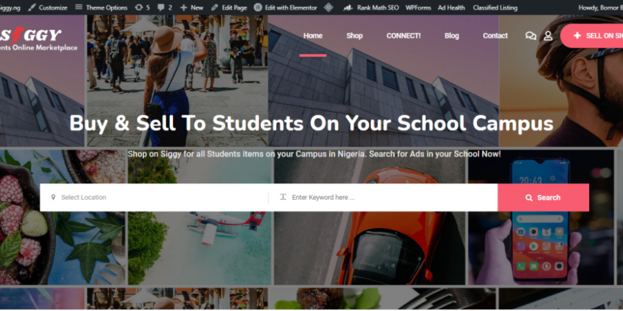 Sell on Campus. Siggy has launched a new online marketplace for Students where college students can swap, buy and sell on Campus.