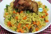 Buy your Ghanaian Fried Rice in Nigeria with Chicken and get it delivered to your doorstep. Very tasty & delicious. Call me now!