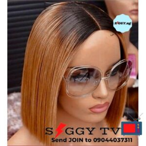 You will be delighted to buy thisNew Fashion Blunt Cut Ombre Wig With Closure among your Hair Collections because of its beautiful look.