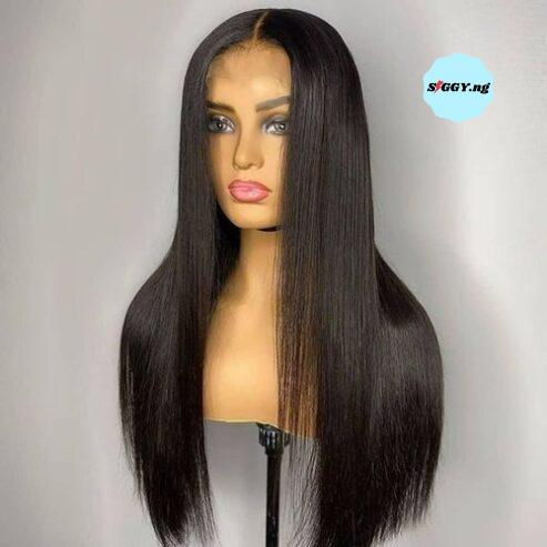 Bone-Straight-Wig-With-one-part-Closure-100-Human-Hair